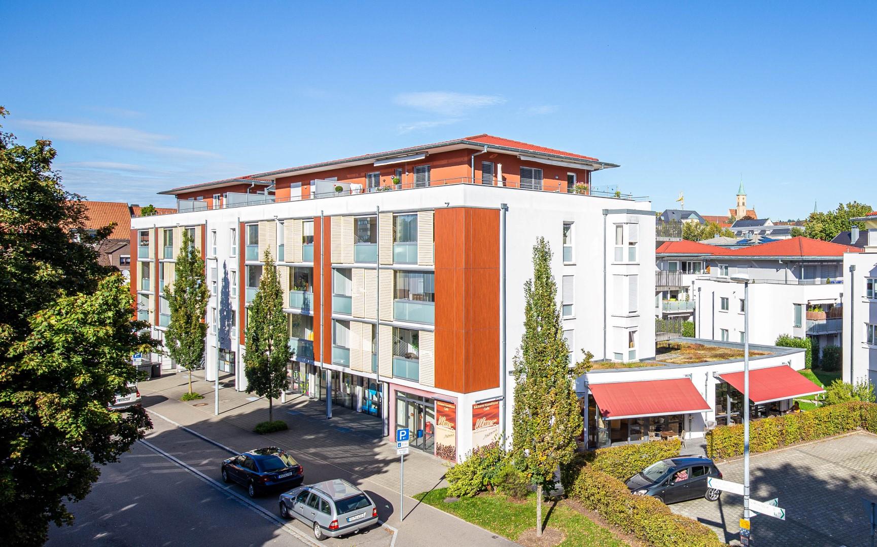 Foto unseres Bauvorhabens Schiller Residence in der Ravensburger Südstadt