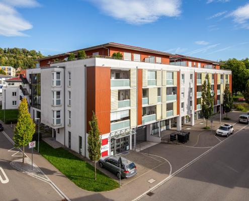 """Foto unseres Bauvorhaben """"Schiller Residence"""" in Ravensburg"""