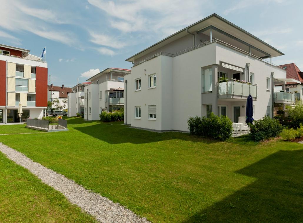 Foto unseres Bauvorhabens in der Schiller Residence, Ravensburg