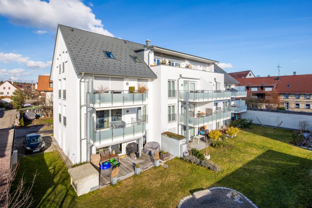 Foto unseres Bauvorhabens in der Andreas- Hofer Straße, Brochenzell