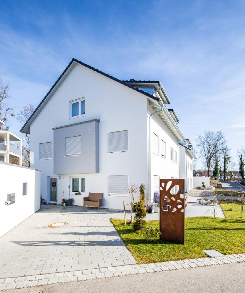 Foto unseres Bauvorhabens in der Bahnhofstraße in Mochenwangen