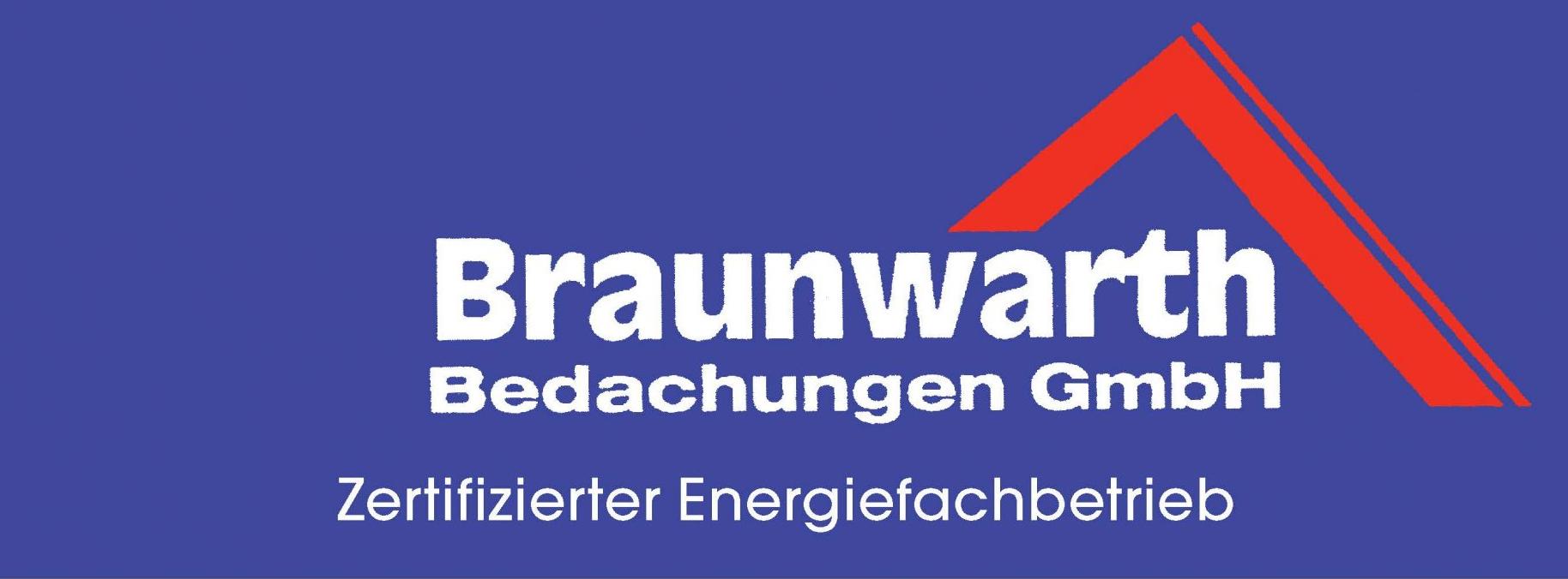 Unser Partner: Logo unseres Partners Braunwarth Bedachungen GmbH