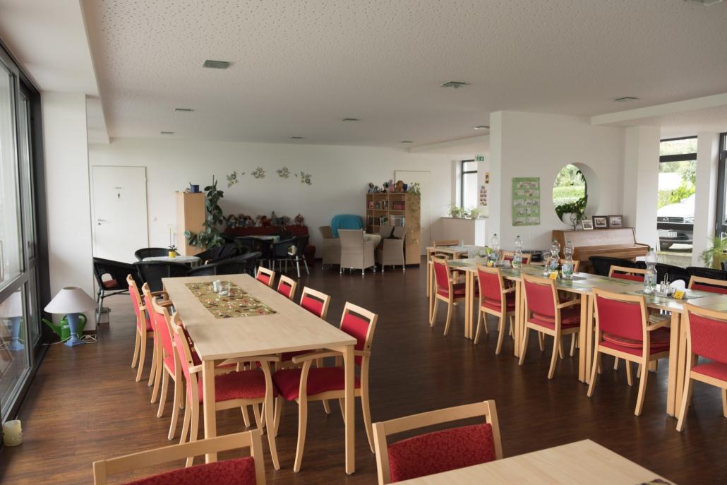 Gemeinschaftsraum unseres Bauvorhabens Schiller Residence in der Ravensburg