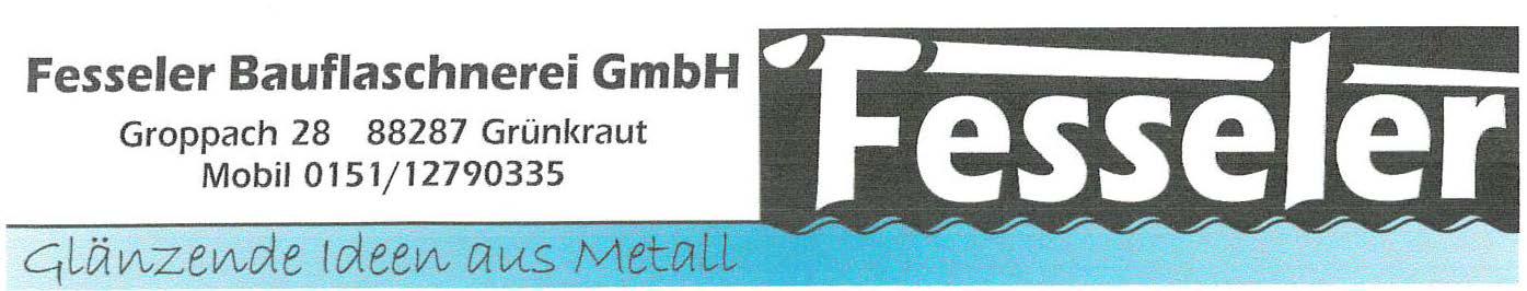 Logo unseres Partners: Fesseler Bauflaschnerei