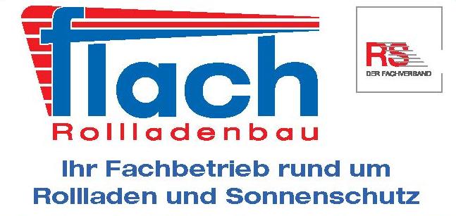 Logo unseres Partners: Flach Rollladenbau