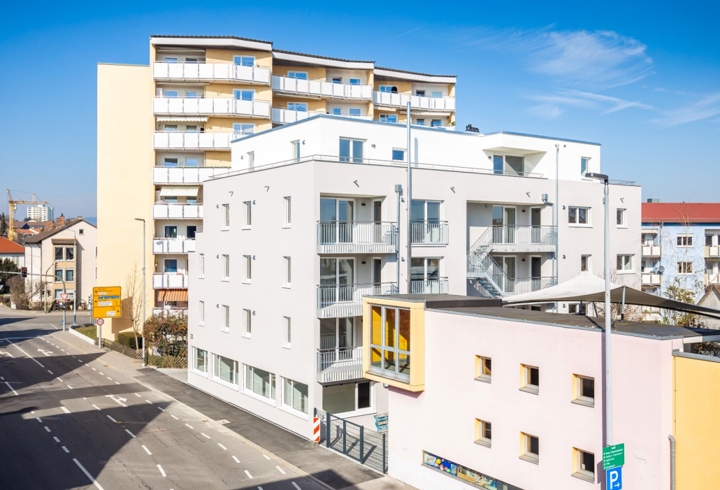 Foto unseres Bauvorhabens in der Hochstraße, Friedrichshafen