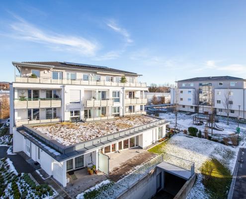 Foto unseres Bauvorhabens im Karl-Fränkel Ring in Meckenbeuren