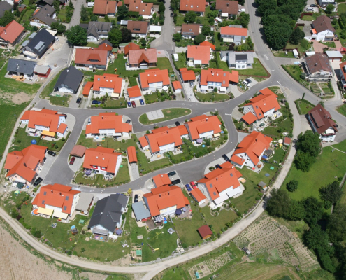 """Foto unseres Bauvorhabens """"Am Lausbüchel"""" in Brochenzell"""