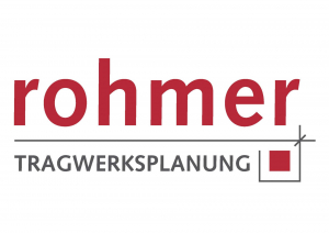Unser Partner: Logo unseres Partners Rohmer Tragwerksplanung