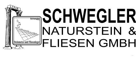 Logo unseres Partners: Schwegler Naturstein & Fliesen GmbH