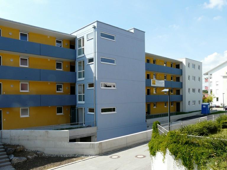 Foto unseres Bauvorhabens im Otto-Hahn-Weg in Friedrichshafen