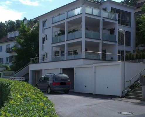 Foto unseres Bauvorhabens in der Zogenfeld Straße in Ravensburg